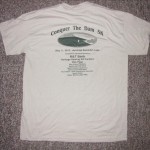 """Conquer the Dam"" Commemorative T-Shirts For Sale"